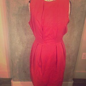 Zara Fuchsia Pink Dress Smart Look Mudo Collection